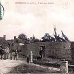 Chateau de Copierre - ancienne carte postale
