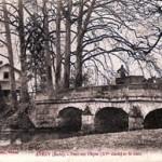 Pont d'Aveny - Carte postale